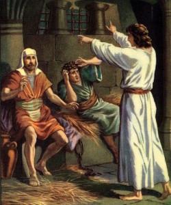 Joseph Interprets Two Dreams Genesis 40:1-19